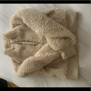Zara fleece jacket